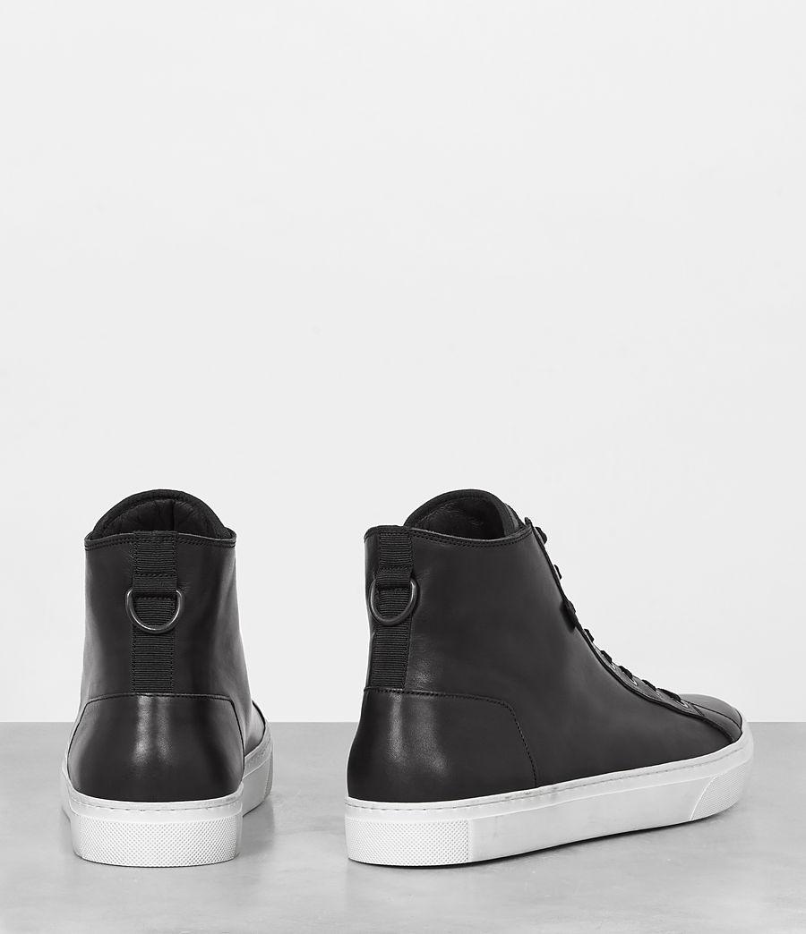 Mens Iyo Hi-Top Sneaker (black) - Image 5