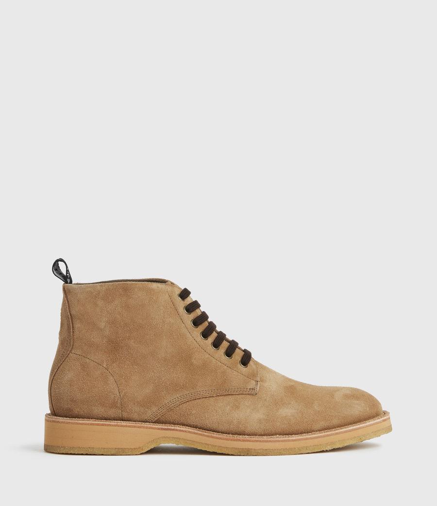 Hommes Mathias Suede Boots (cognac) - Image 1