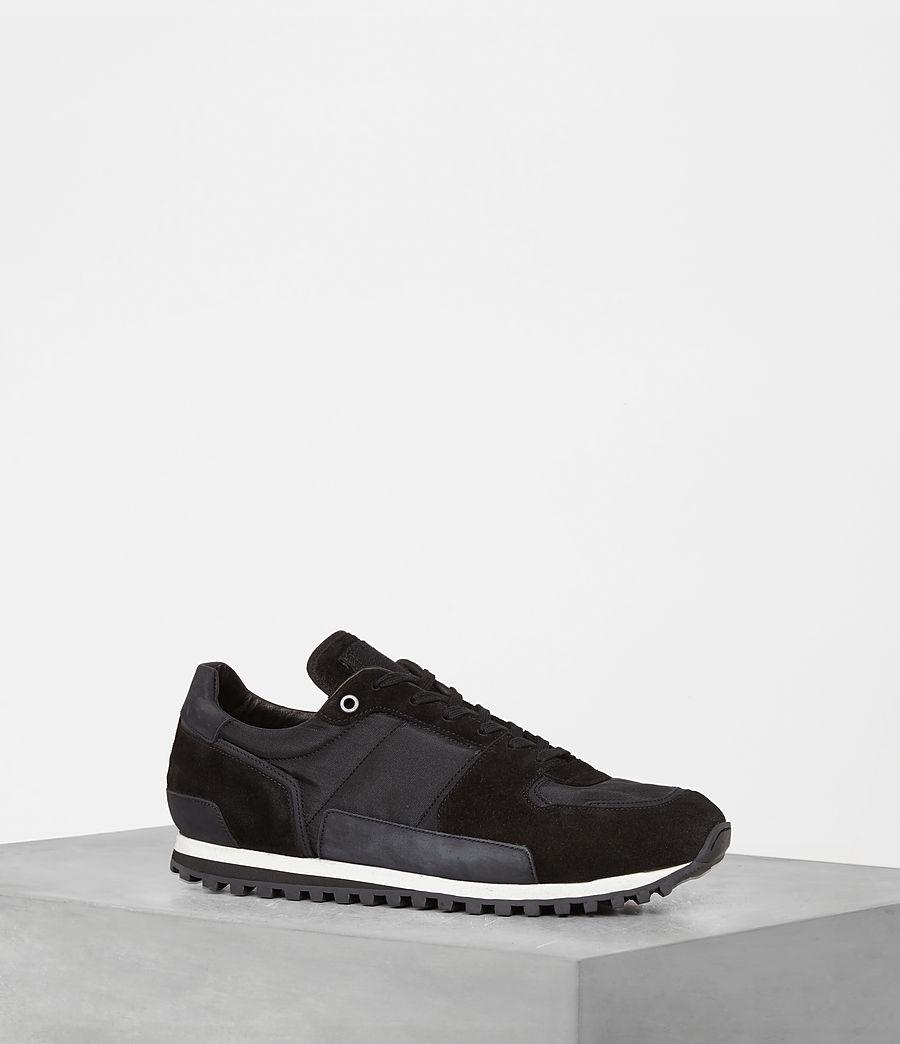 Mens Sterling Runner Sneaker (washed_black) - Image 1