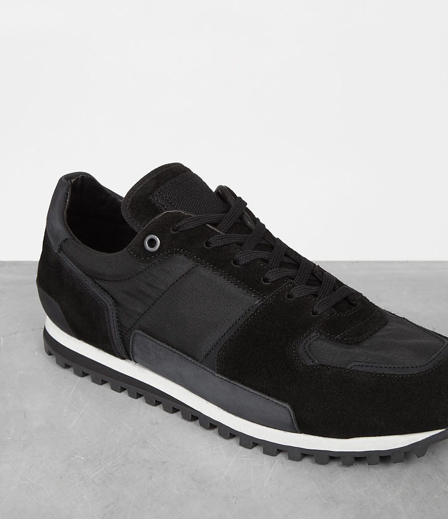Mens Sterling Runner Sneaker (washed_black) - Image 3