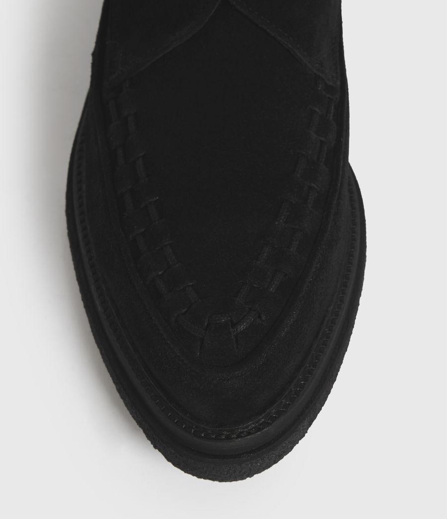 Hombre Zapatos de Ante con Hebilla y Suela de Goma Graffin (black) - Image 2