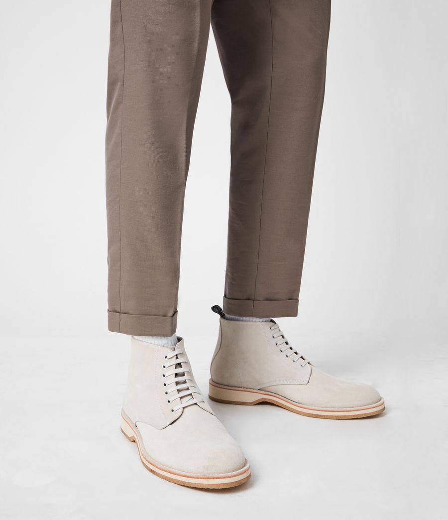 Men's Mathias Suede Boots (off_white) - Image 2