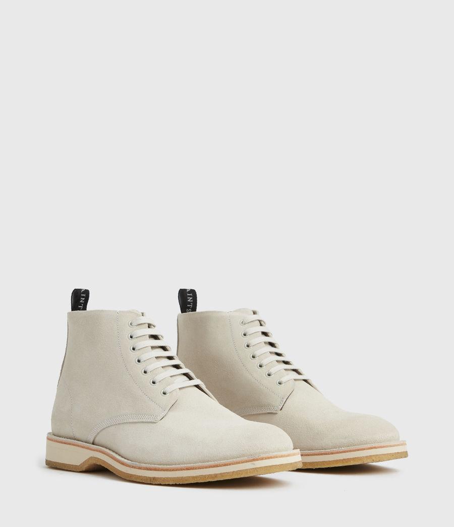 Men's Mathias Suede Boots (off_white) - Image 4