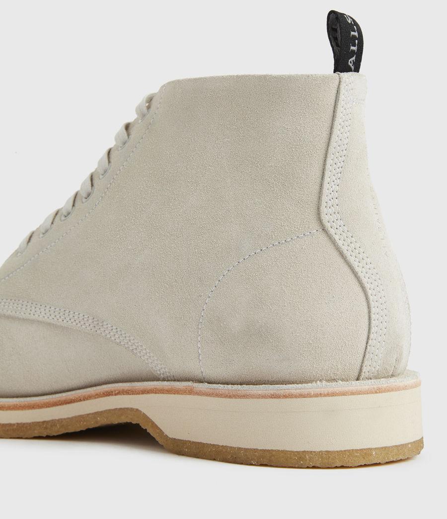 Men's Mathias Suede Boots (off_white) - Image 5
