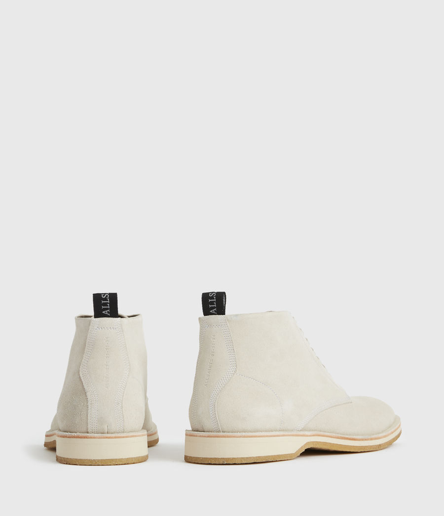 Men's Mathias Suede Boots (off_white) - Image 6