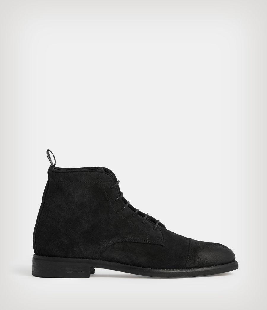 Men's Harland Suede Boots (black) - Image 1