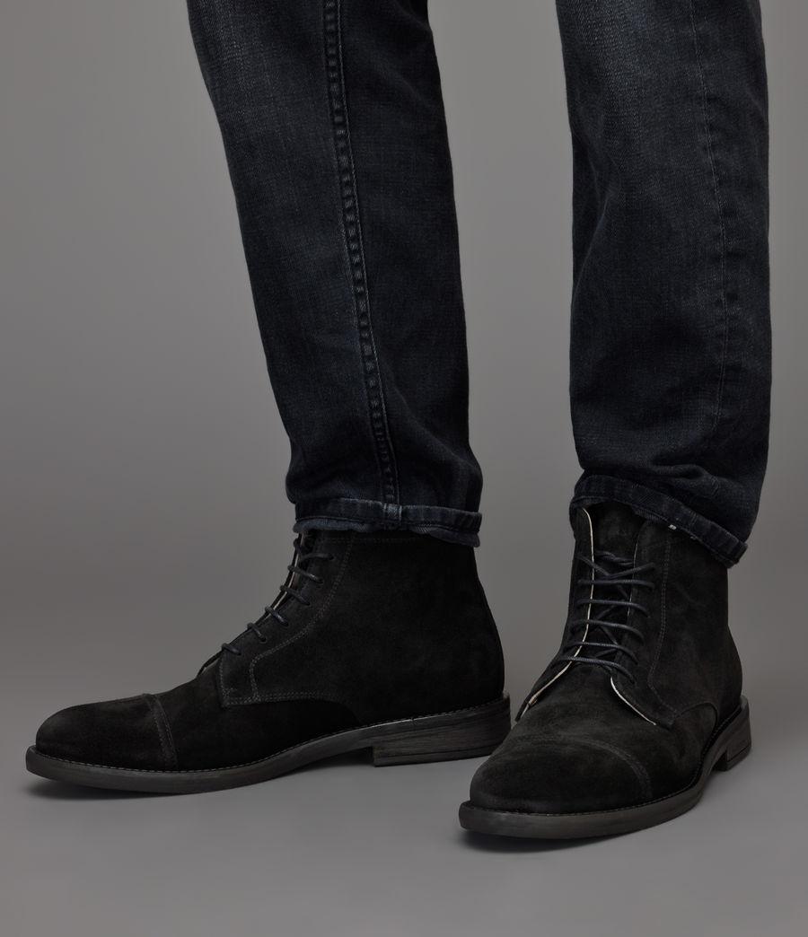 Men's Harland Suede Boots (black) - Image 2