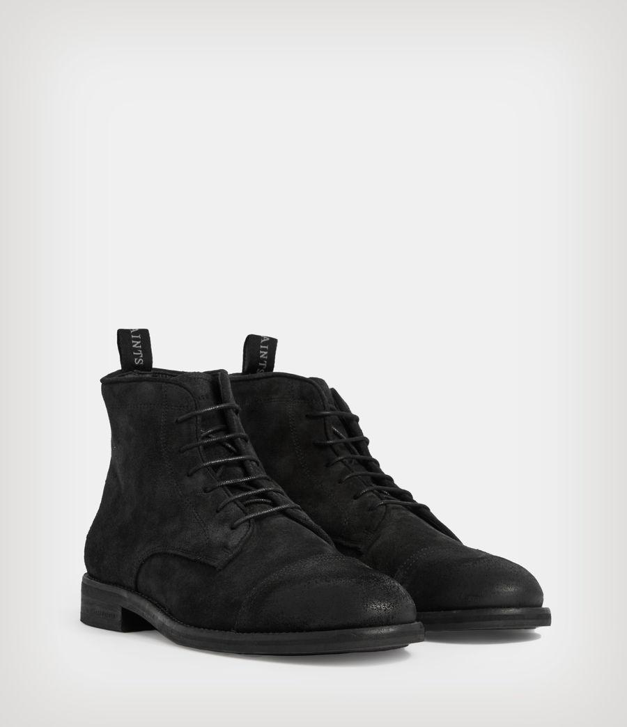 Men's Harland Suede Boots (black) - Image 5