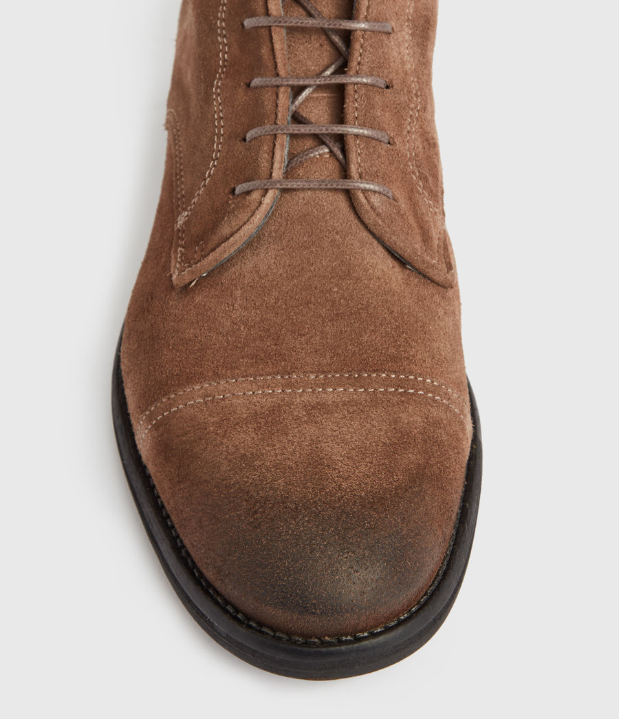 Men's Harland Suede Boots (taupe) - Image 2