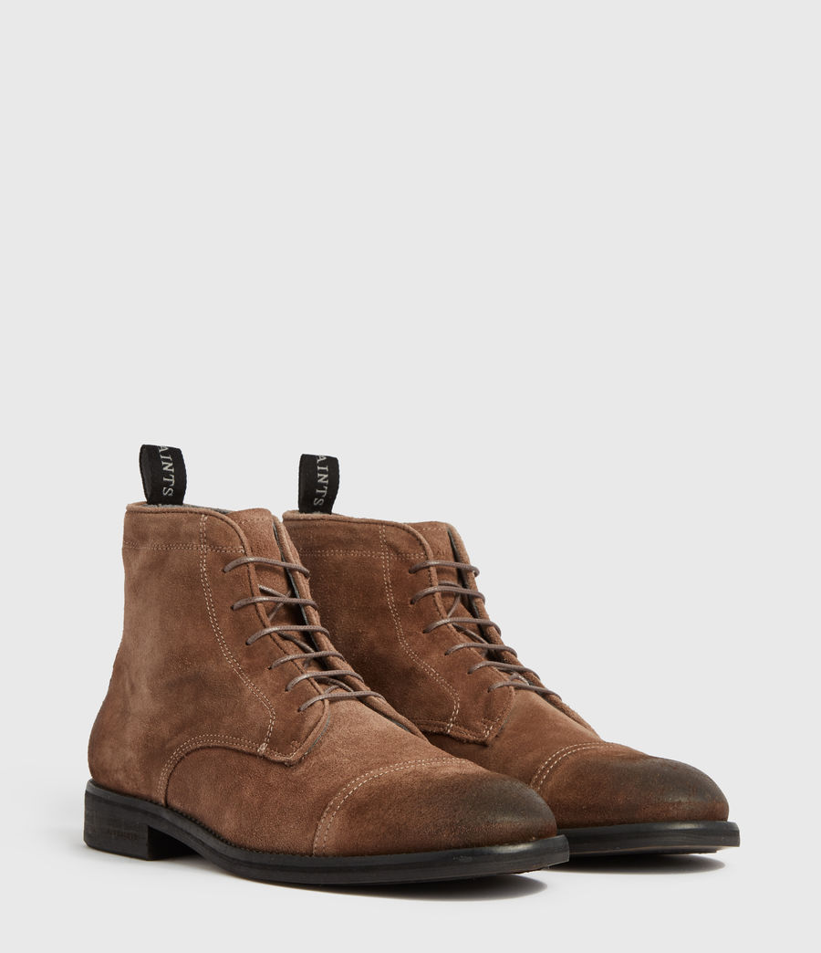 Men's Harland Suede Boots (taupe) - Image 3