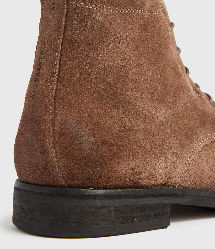 Men's Harland Suede Boots (taupe) - Image 4
