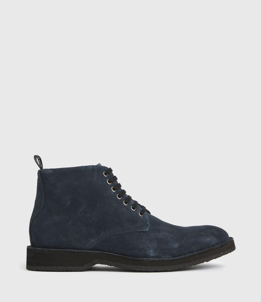 Men's Mathias Suede Boots (dark_navy) - Image 1