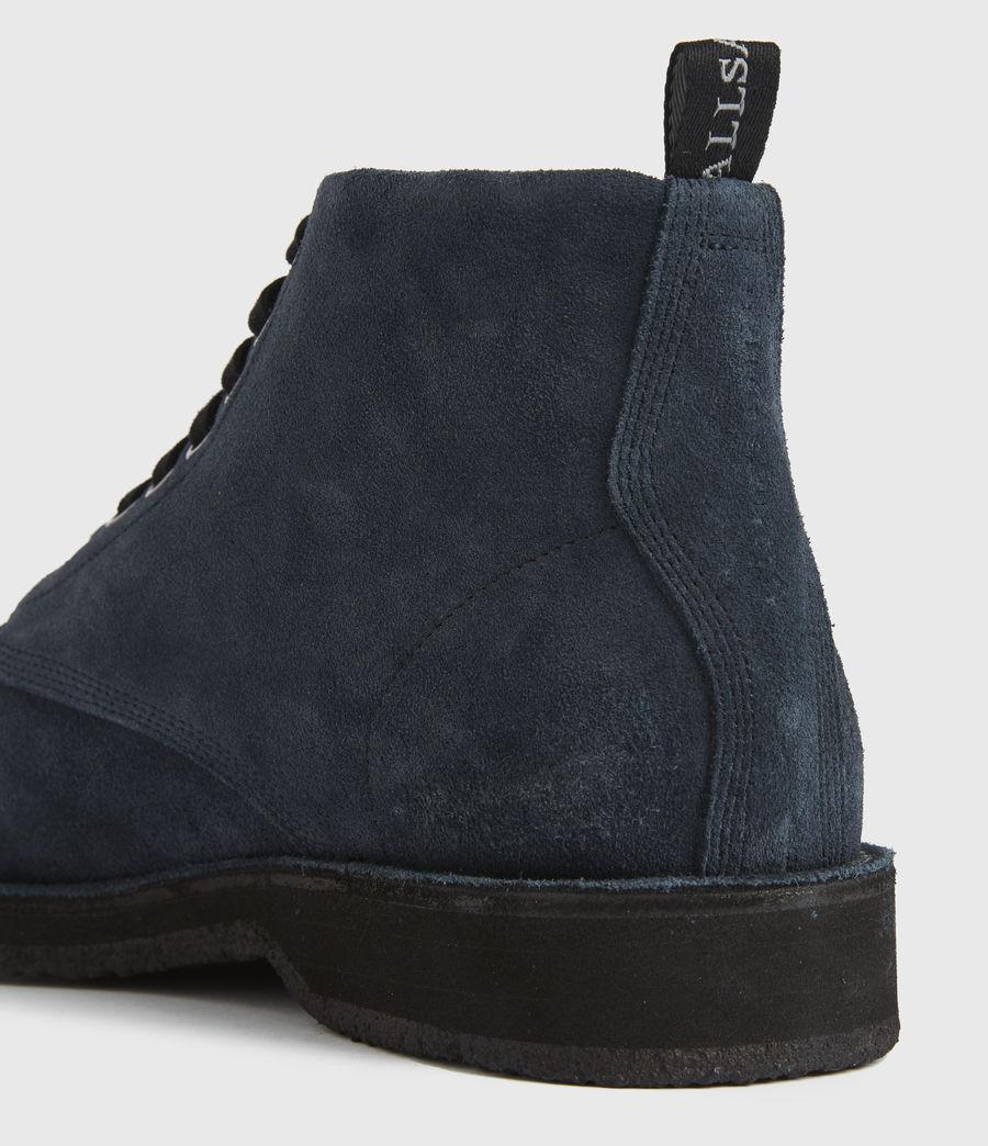 Men's Mathias Suede Boots (dark_navy) - Image 2