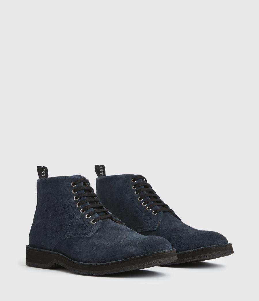 Men's Mathias Suede Boots (dark_navy) - Image 3