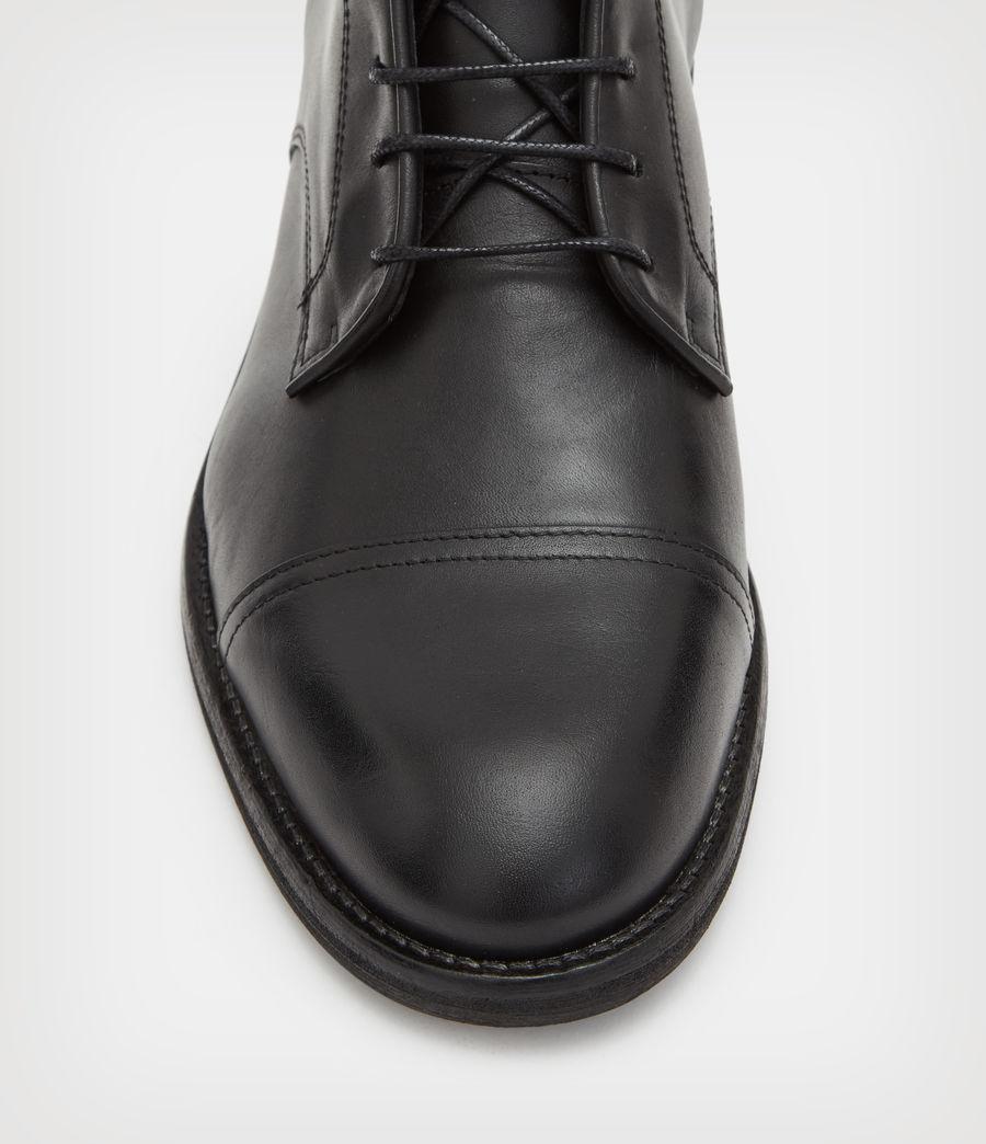 Men's Harland Suede Boots (black) - Image 3