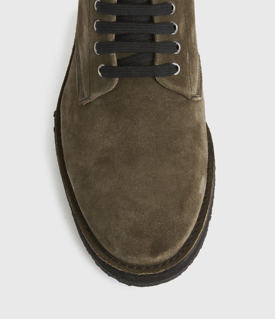 Men's Mathias Suede Boots (dark_khaki) - Image 2