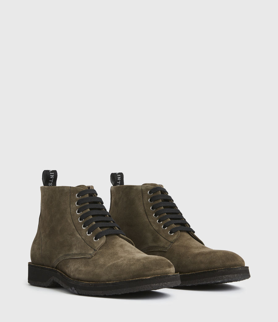 Men's Mathias Suede Boots (dark_khaki) - Image 3