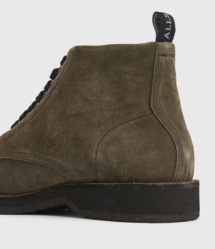 Men's Mathias Suede Boots (dark_khaki) - Image 4