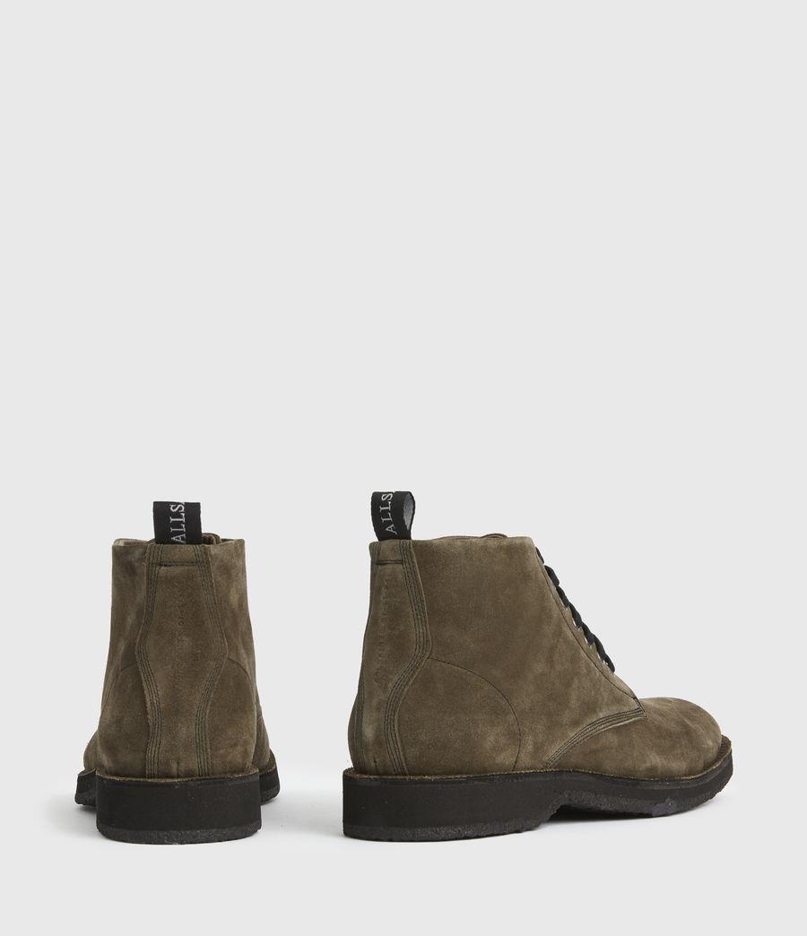 Men's Mathias Suede Boots (dark_khaki) - Image 5