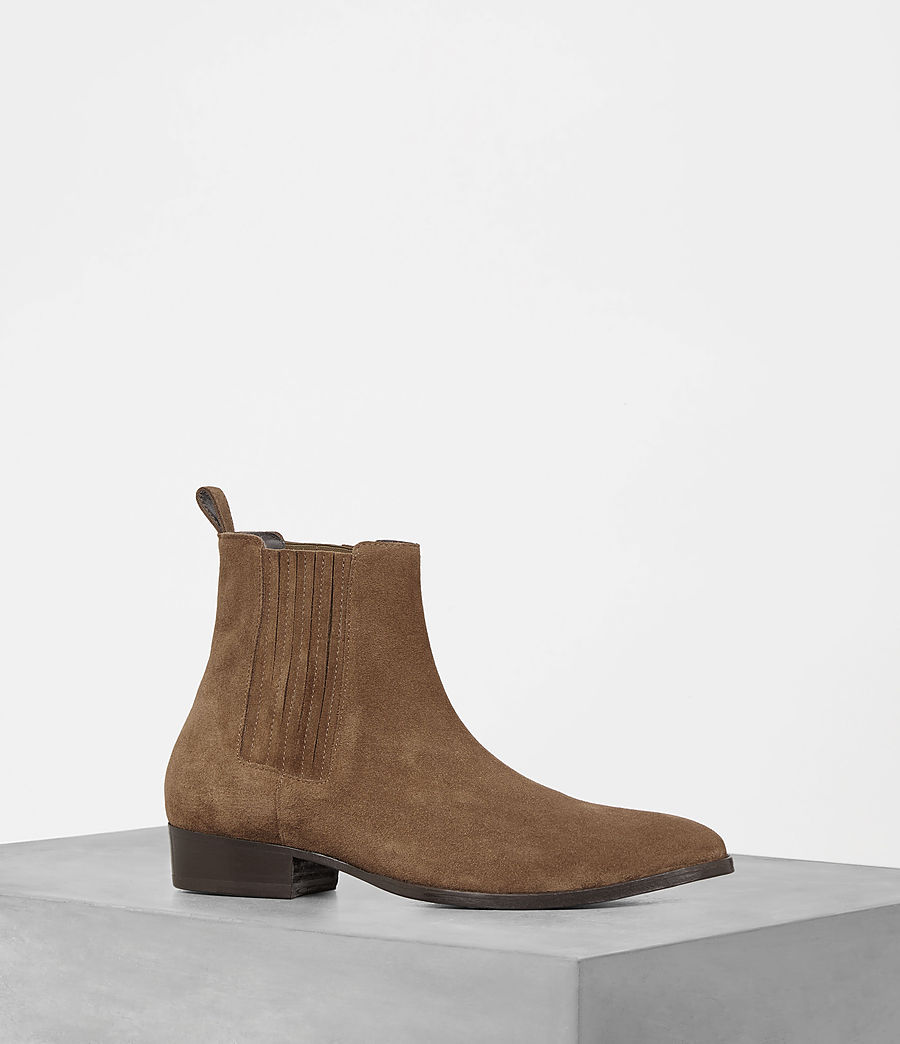 Mens Curtis Chelsea Boot (tan) - Image 1