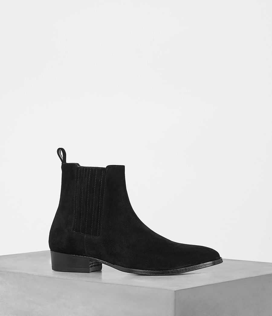 Mens Curtis Chelsea Boot (Jet Black) - Image 1