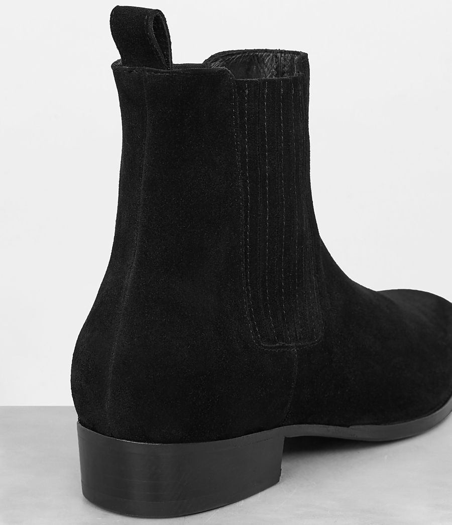 Mens Curtis Chelsea Boot (Jet Black) - Image 2