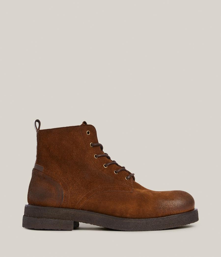 Men's Kerouac Suede Boots (tan) - Image 1