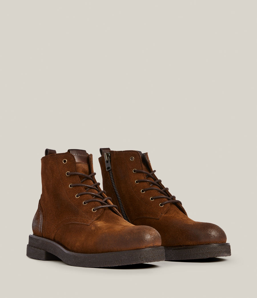 Men's Kerouac Suede Boots (tan) - Image 5