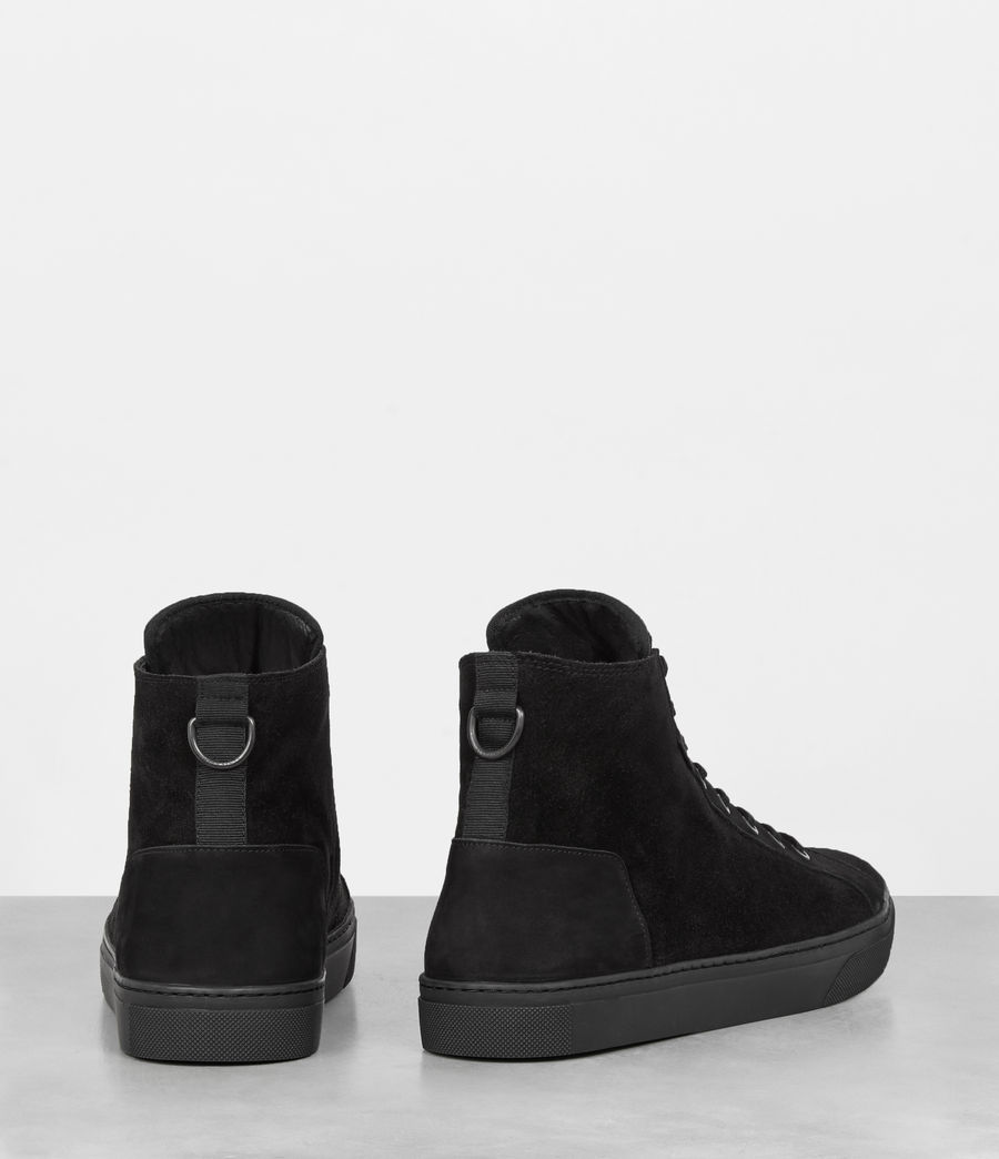 Uomo Sneakers Fader Hi-top (black) - Image 4