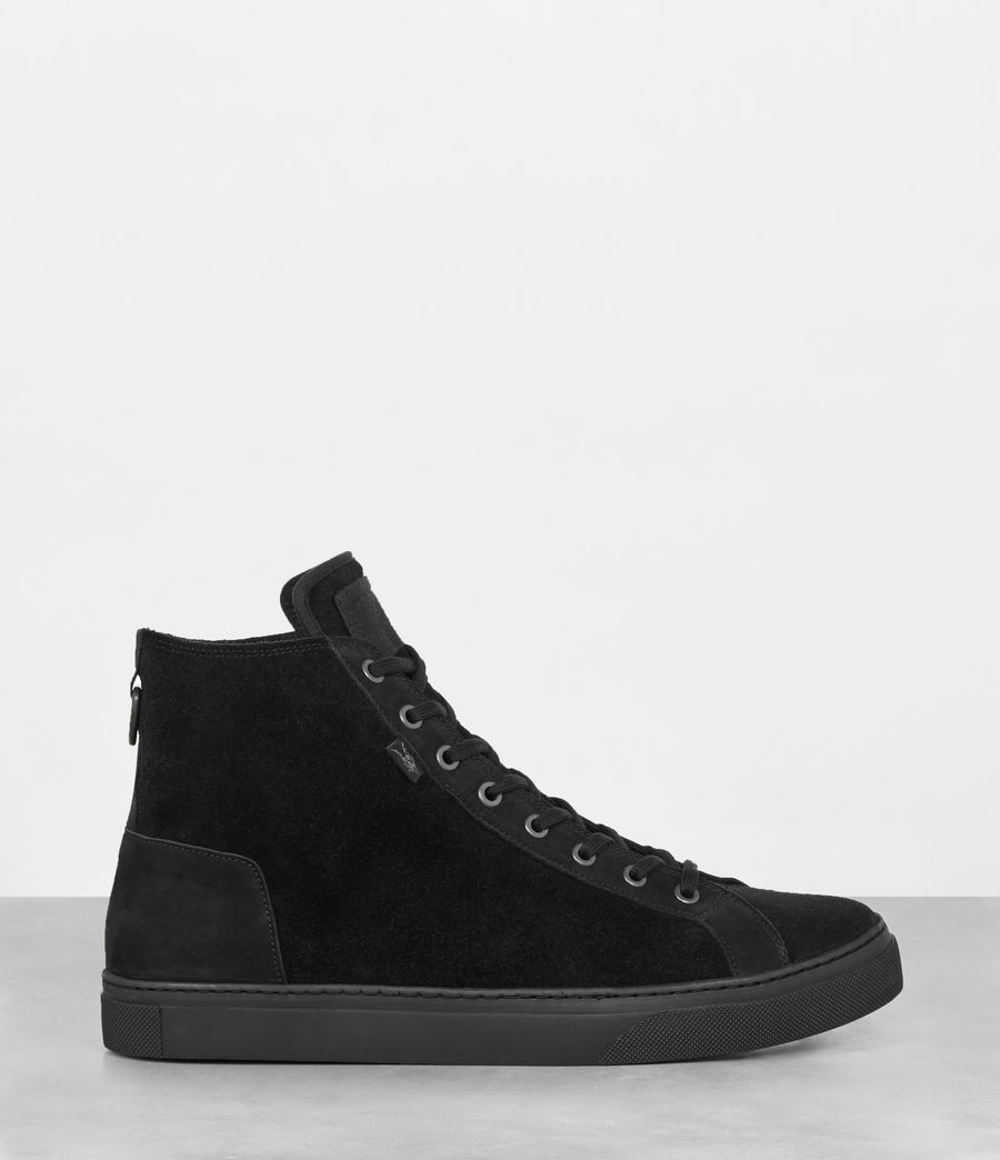 Uomo Sneakers Fader Hi-top (black) - Image 5