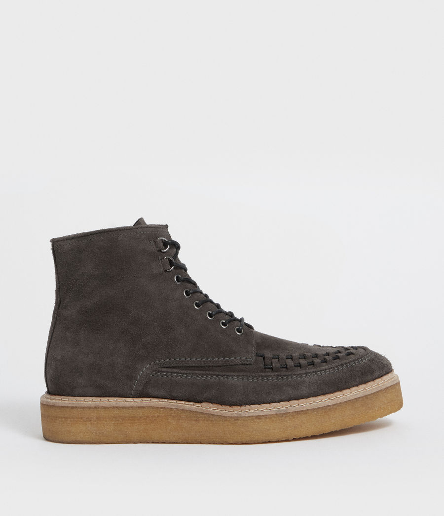 Hommes Bottines Defoe (charcoal_grey) - Image 1
