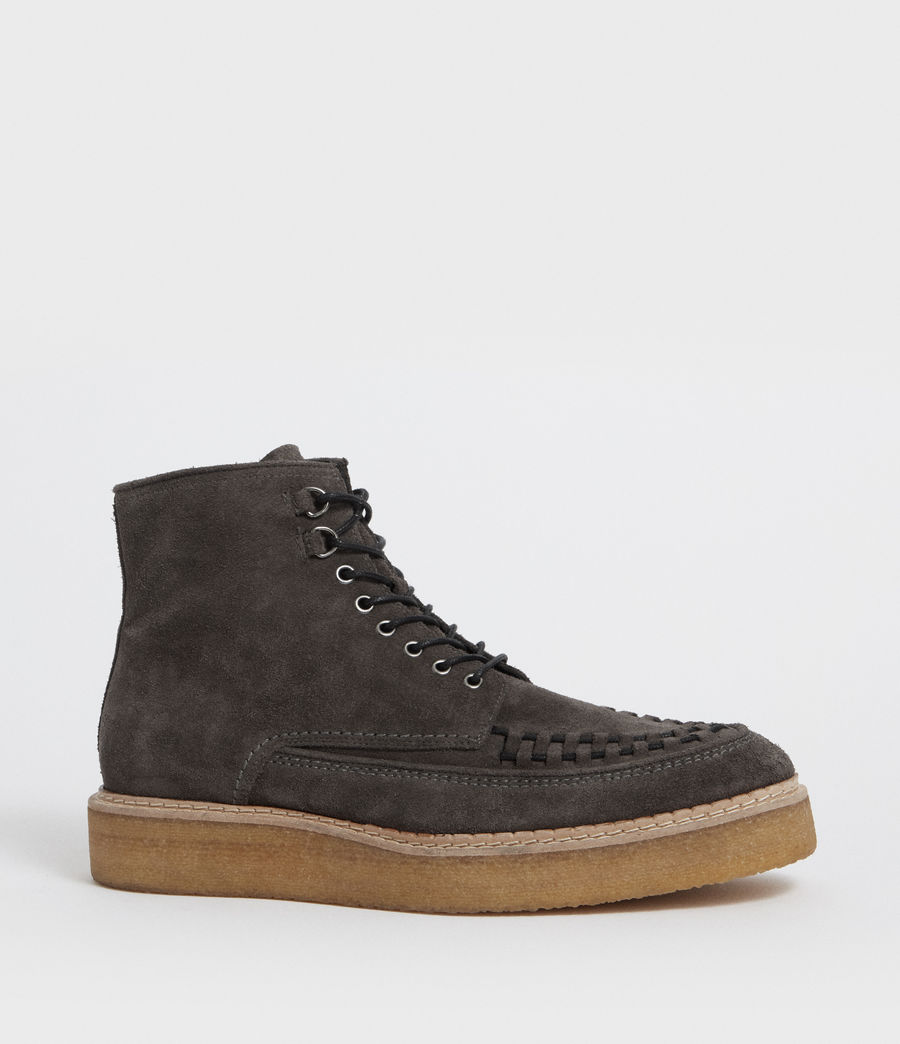 Hommes Bottines Defoe (charcoal_grey) - Image 2