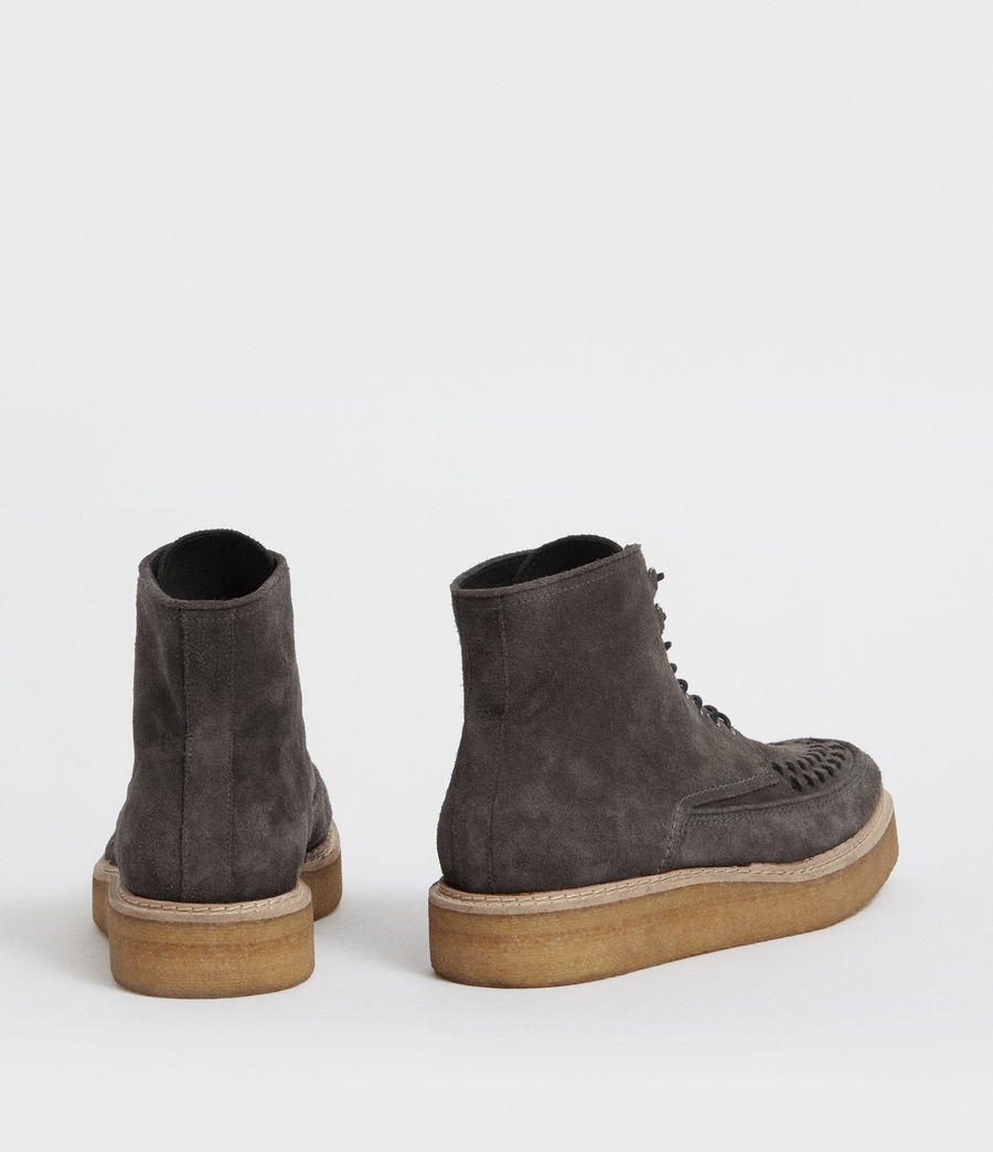 Hommes Bottines Defoe (charcoal_grey) - Image 5