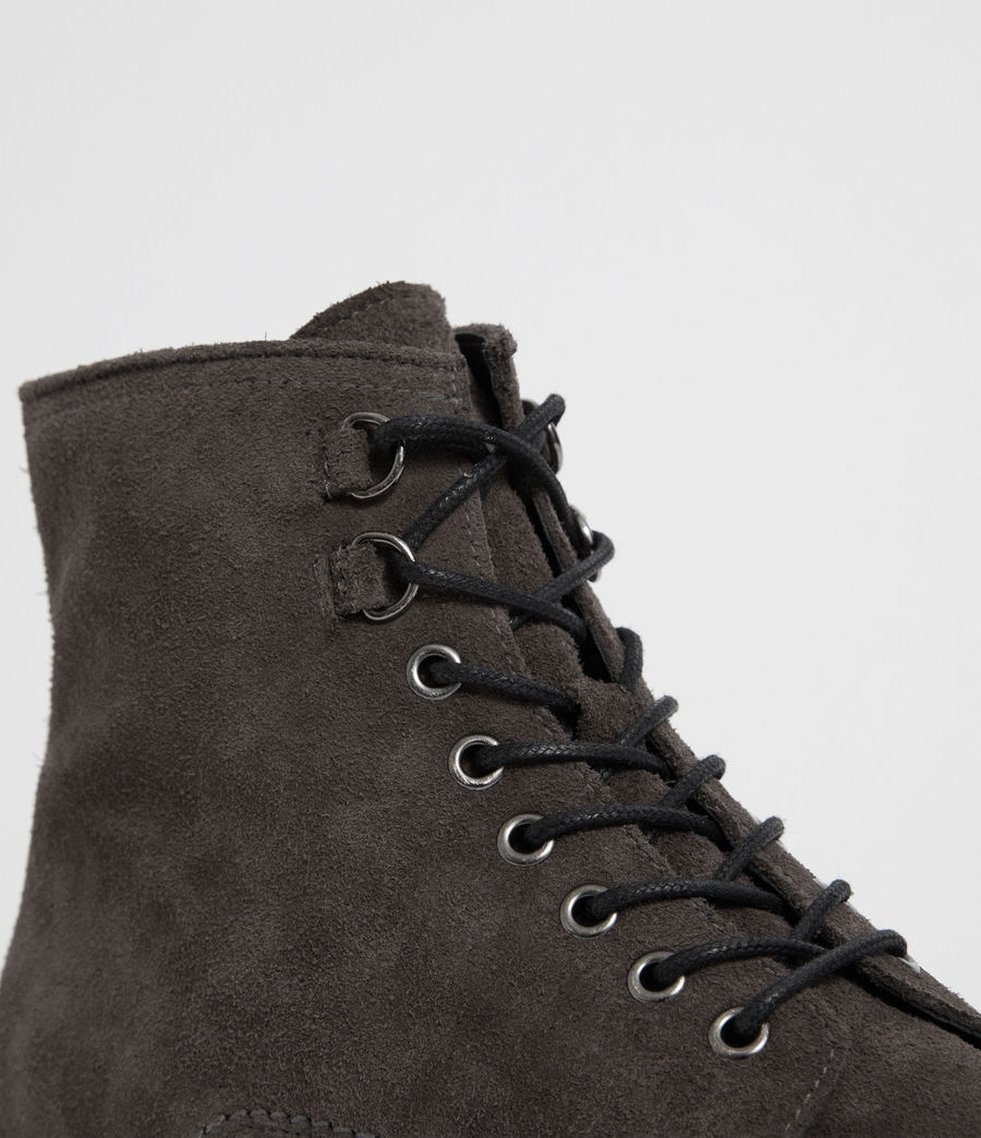 Mens Defoe Boot (charcoal_grey) - Image 6