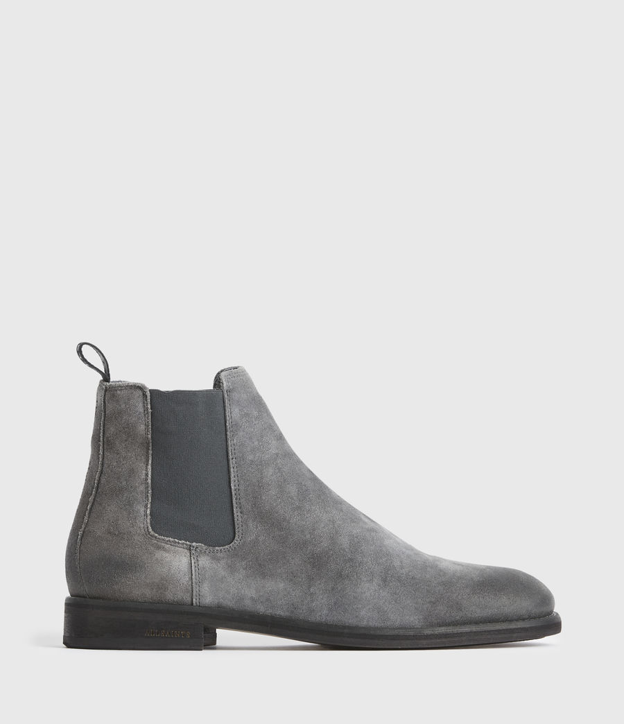 Men's Harley Suede Boots (charcoal_grey) - Image 1