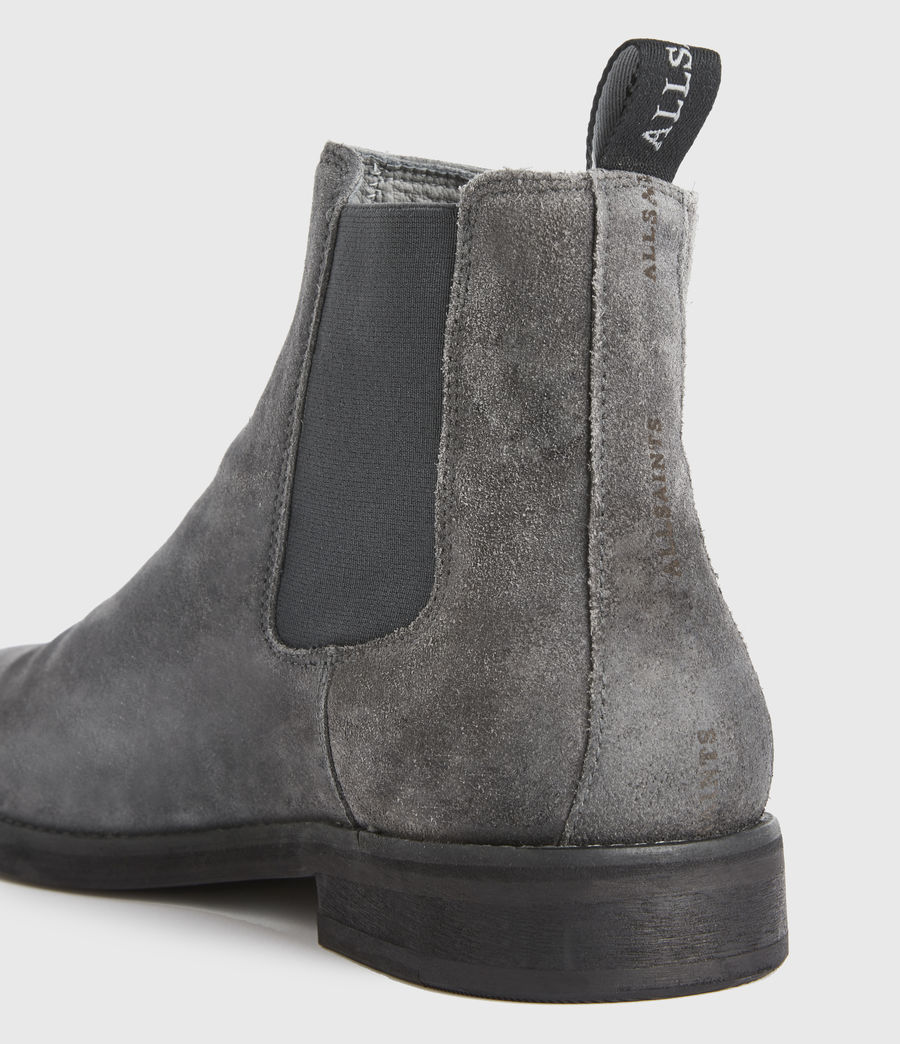 Men's Harley Suede Boots (charcoal_grey) - Image 2