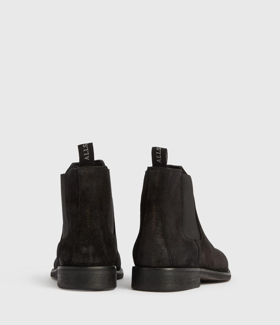 Mens Harley Suede Boots (black) - Image 5
