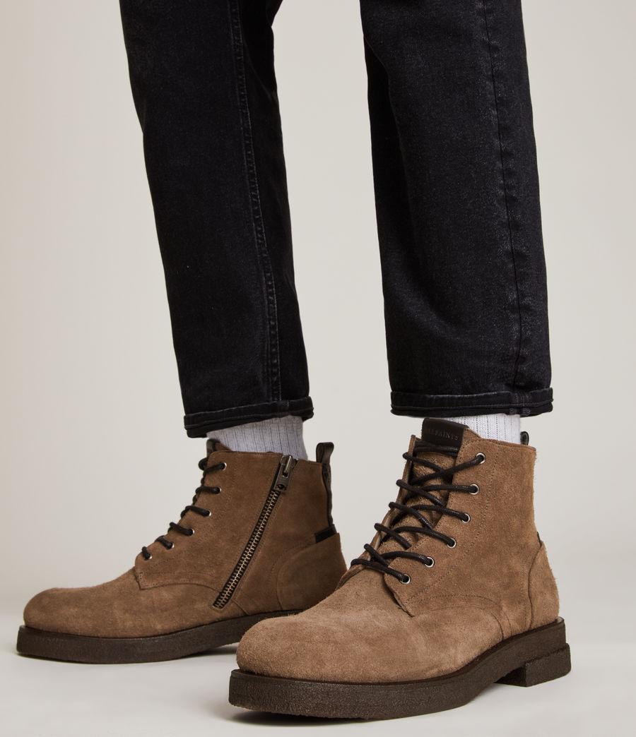Men's Kerouac Suede Boots (grey) - Image 2