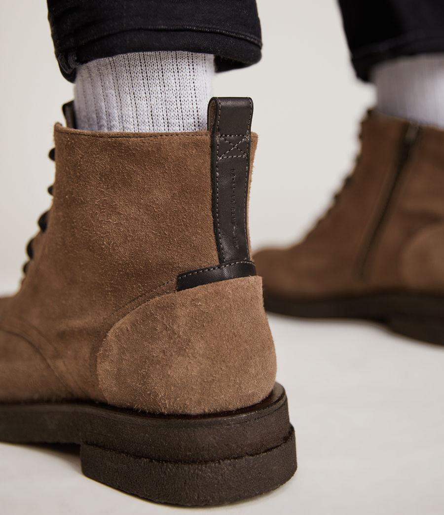 Men's Kerouac Suede Boots (grey) - Image 4