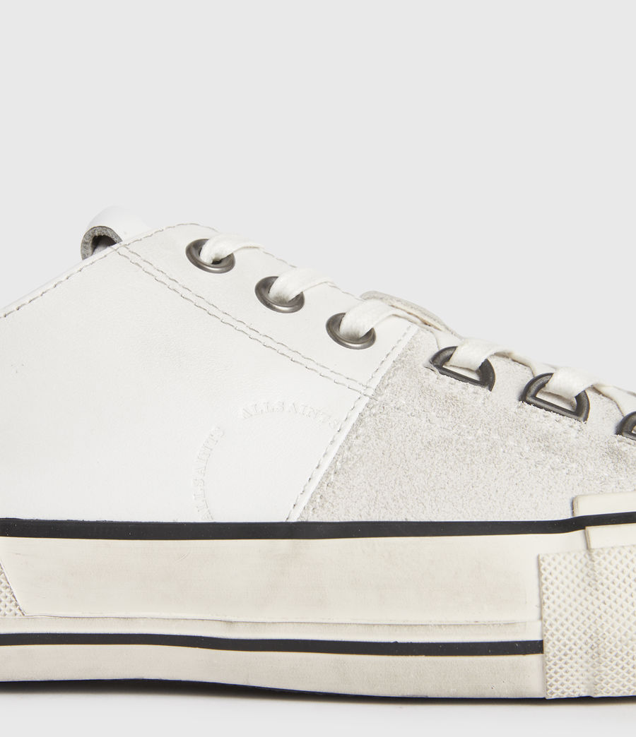 Mens Jago Low Top Leather Sneakers (off_white) - Image 3