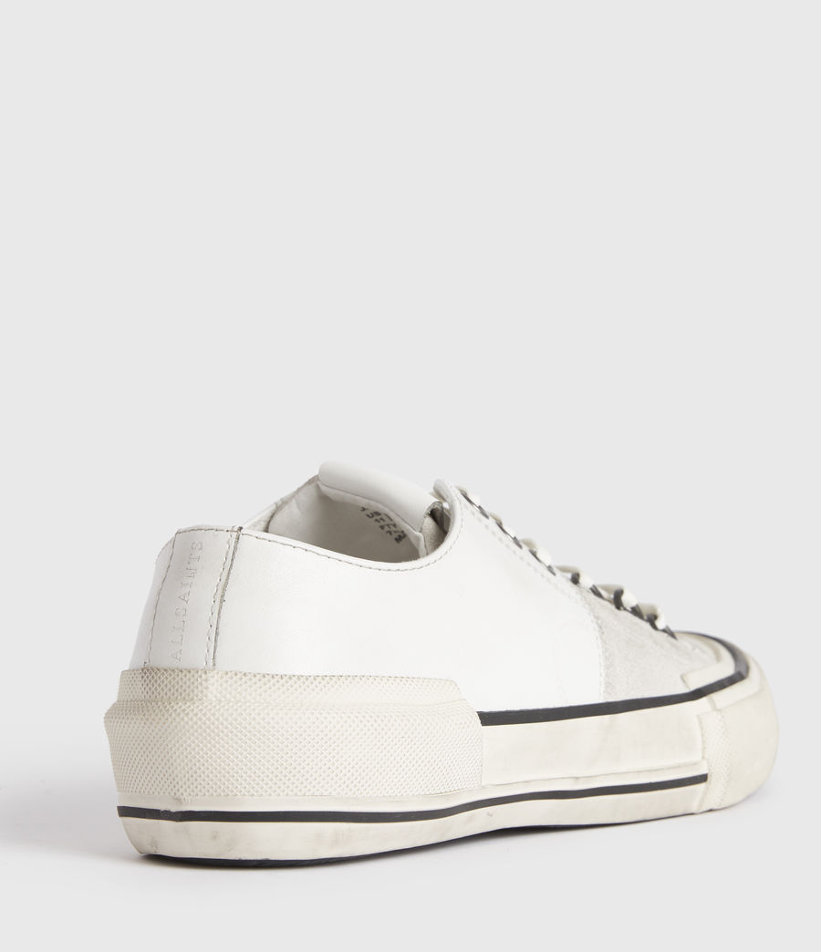 Mens Jago Low Top Leather Sneakers (off_white) - Image 4