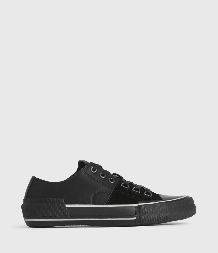 Men's Jago Low Top Leather Trainers (off_white) - Image 1