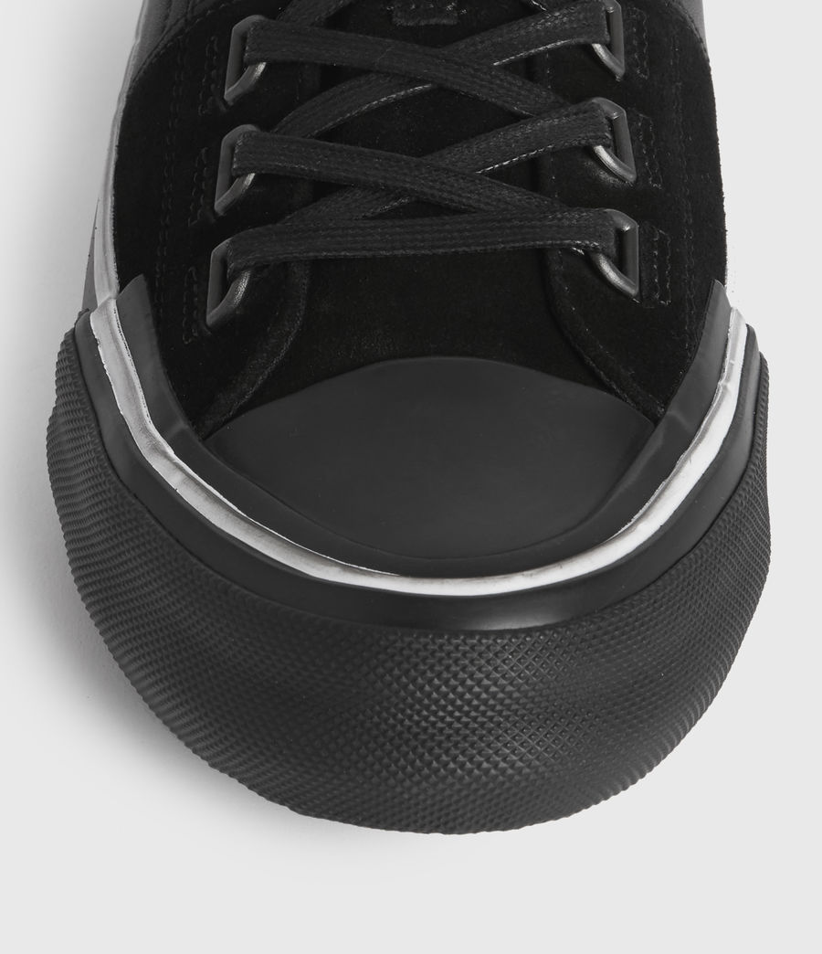 Men's Jago Low Top Leather Trainers (off_white) - Image 2