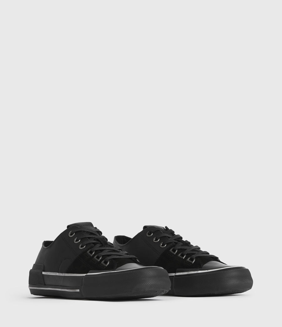 Men's Jago Low Top Leather Trainers (off_white) - Image 3
