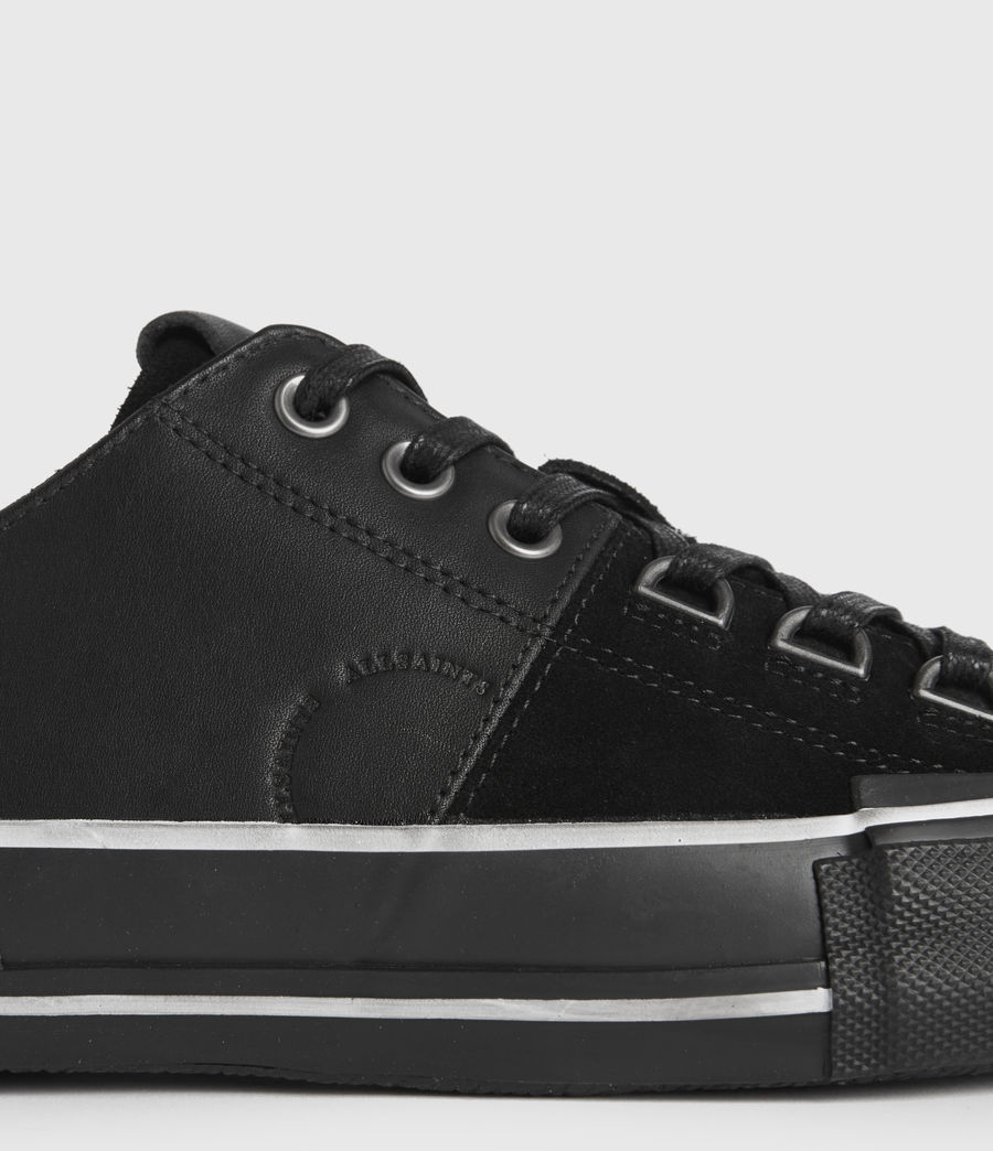 Men's Jago Low Top Leather Trainers (off_white) - Image 4