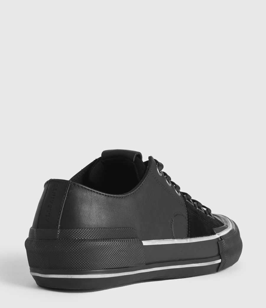 Men's Jago Low Top Leather Trainers (off_white) - Image 5