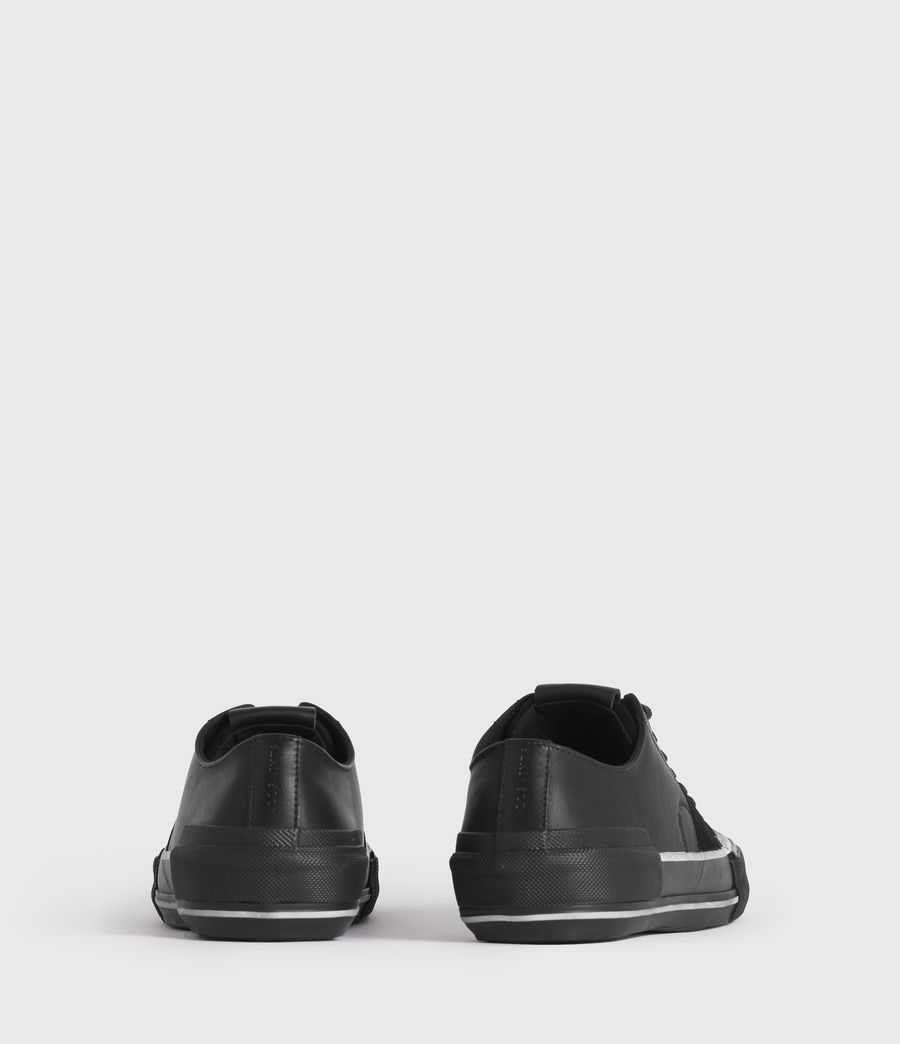 Men's Jago Low Top Leather Trainers (off_white) - Image 6