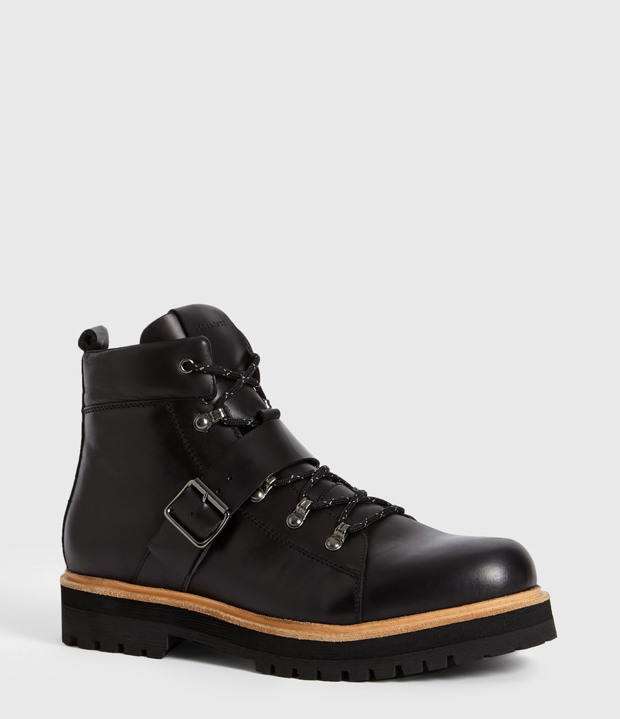 Hommes Bottines Richie (black) - Image 3