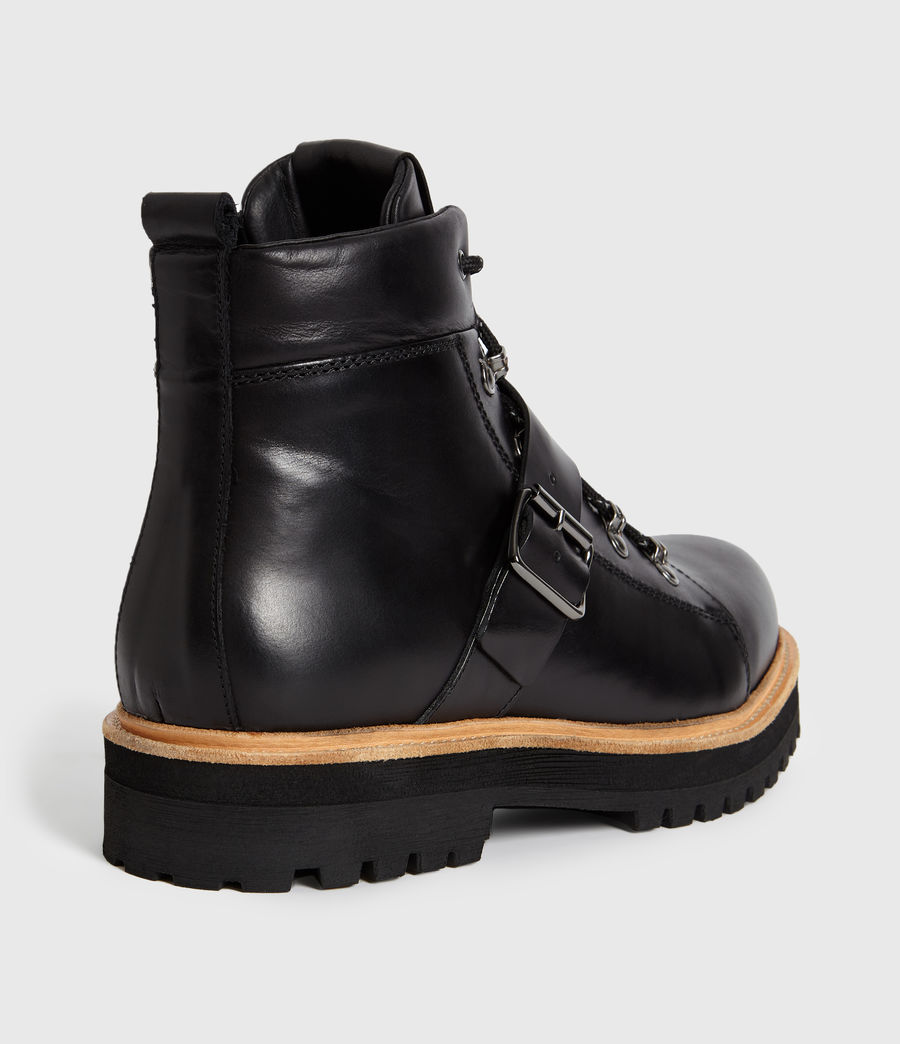 Hommes Bottines Richie (black) - Image 5