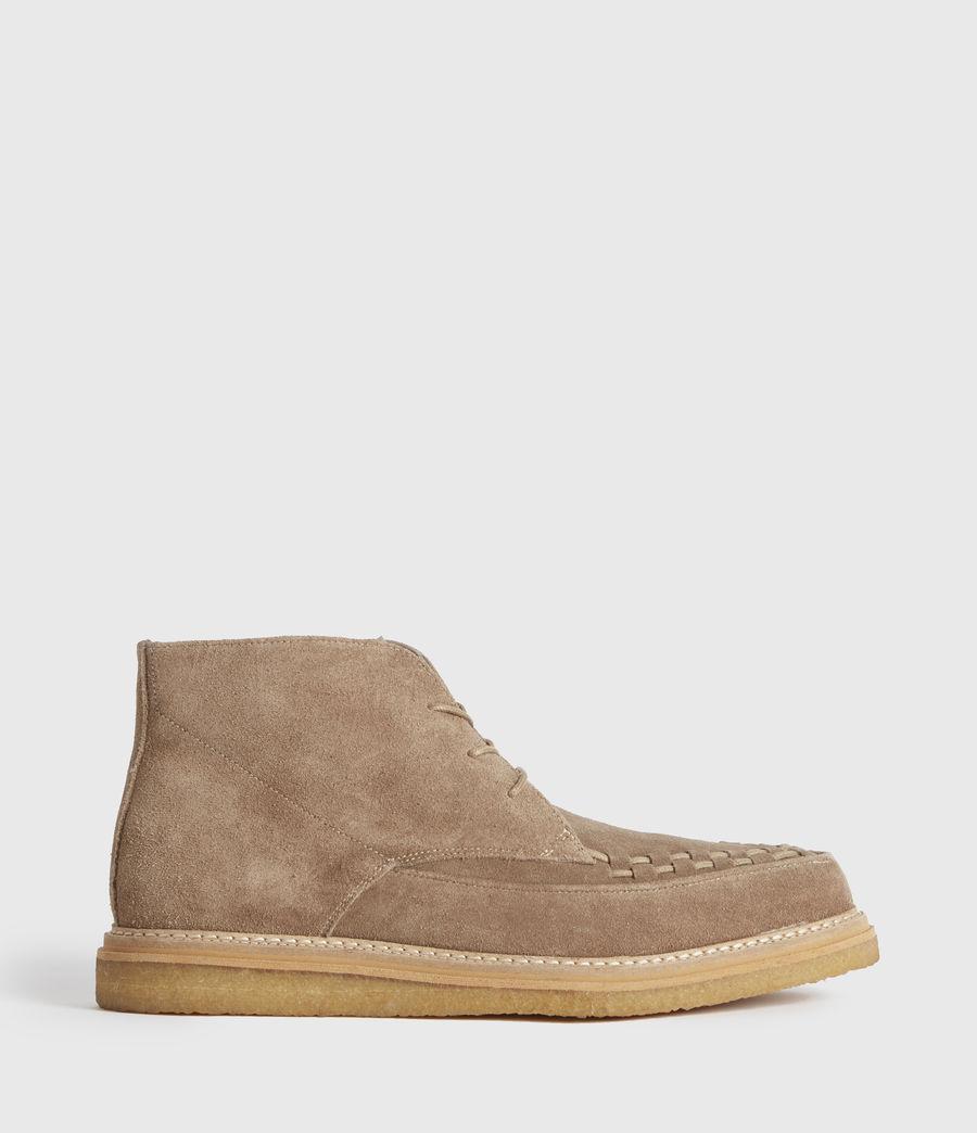 Men's Leon Suede Boots (charcoal_grey) - Image 1